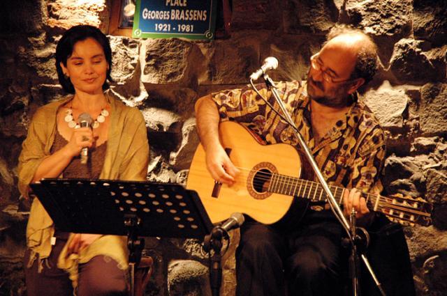 Con Cristina Gálvez
