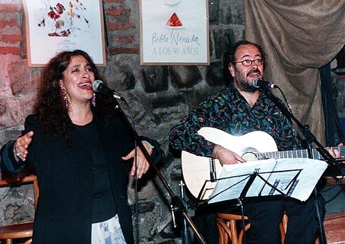 Con Carmen Prieto