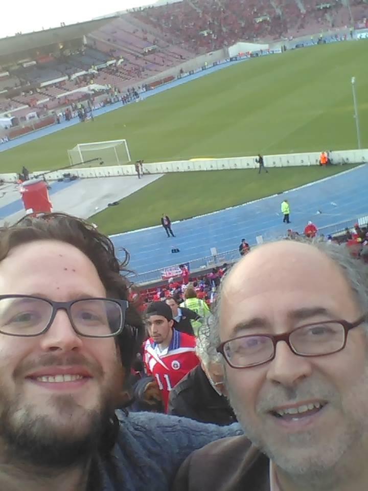 Chile 2 Brasil 0 (con Vicente)