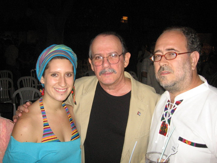 Con Belén y Silvio