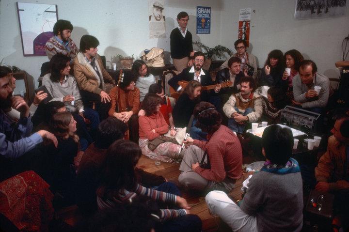 Cantando para amigos y Joan Baez!