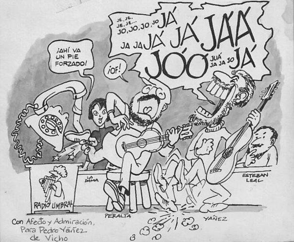 Caricatura Payadores
