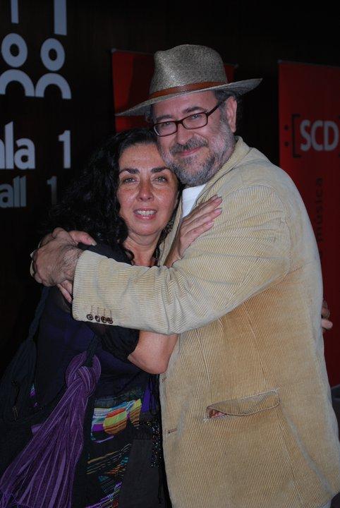 Con Cecilia Concha Laborde