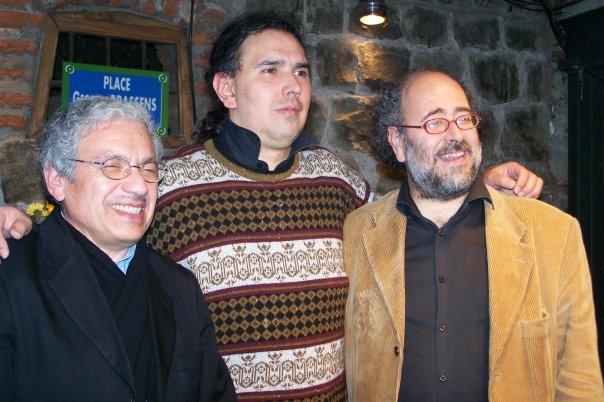 Con Felo y Jano Duarte