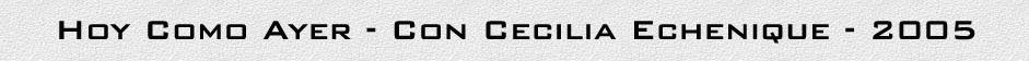 titulo cecilia